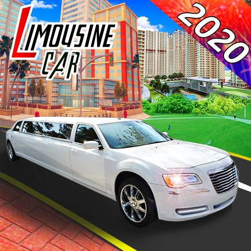 Big city limousine car simulator 2020