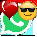 استیکر عاشقانه واتساپ