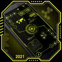 Visionary Launcher 2021 App lock, Hitech Wallpaper