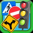 آزمون راهنمایی رانندگی(تابلوها)
