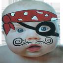 نقاشی و گریم چهره کودک