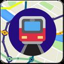 نقشه مترو 96(تهران و کرج)