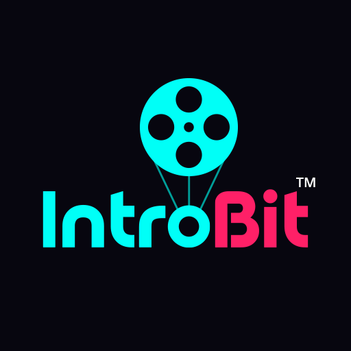 IntroBit : Animated Text & Intro Maker with Music