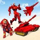 Tank Robot Car Games - Jet Robot Transformation