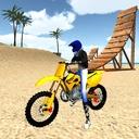 Motocross Beach Jumping - موتورسواری