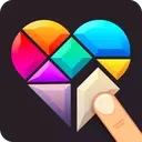 Polygrams - Tangram Puzzle Games