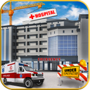 Hospital Building Construction Games City Builder