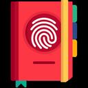 Diary with lock - Fingerprint lock