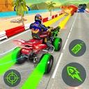 ATV Quad Bike Racing Simulator: Bike Shooting Game