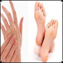 درمان ترک پا و خشکی پوست