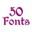 Fonts for FlipFont 50 #3