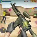 Paintball Shooting Games: Commando Training Squad