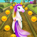 Unicorn Runner 2020: Running Game. Magic Adventure
