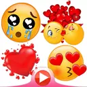 💕😍WAStickerApps animated stickers for Whatsapp