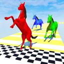 Horse Run Colours: Fun Race 3D Games