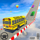 School Bus Stunt Driving: Mega Ramp Impossible Bus