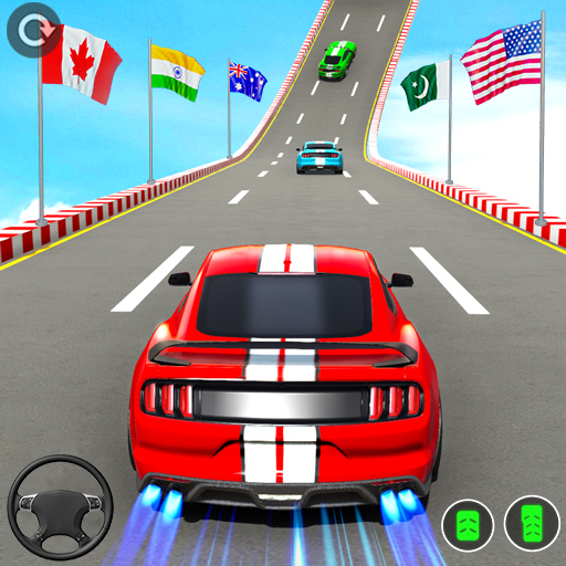Muscle Car Stunts 2020: Mega Ramp Stunt Car Games