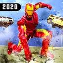 Superhero Iron Robot Rescue Mission 2020