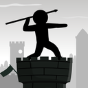 Epic Stickman Knight Hero Fighting: Javelin Tower