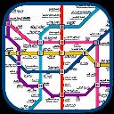 نقشه مترو تهران (جدید)