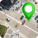 GPS Satellite - Live Earth Map & Voice Navigation