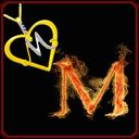 والپیپر حرف M