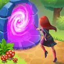 Charms of the Witch: Magic Mystery Match 3 Games
