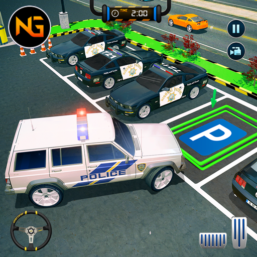 Police Car Parking: Police Jeep Driving Games