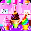 Glass ice cream maker