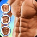 Six-piece stomach training