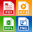 All Files Converter - PDF, DOC, JPG, GIF, MP3, AVI