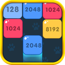 2048 Shoot & Merge Block Puzzle