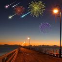 New Year Meteor Shower