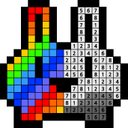 Number coloring : Dot coloring