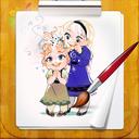 دفتر نقاشی السا و آنا