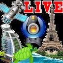 پخش زنده مناظر دنیا، فضا و آب
