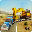 Construction Machines Transporter Truck