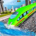 Underwater Bullet Train Simulator : Train Games