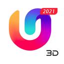 U Launcher 3D: New Launcher 2019, 3d themes