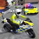 Police Car Driving - Motorbike Riding
