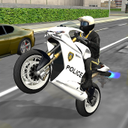 Police Bike City Driving
