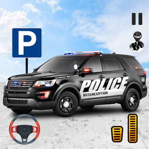 Modern Police Car Parking - Car Games