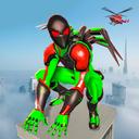 Frog Spider Robot Hero: Ninja Robot War Games