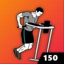 150 Triceps Dips - Upper Body Workout, Men Fitness