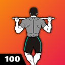 100 Pull Ups - Upper Body Workout, Men Fitness