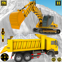 Grand Snow Excavator Simulator :Road Construction