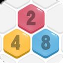 HexPop:Mergenumber to 2048, Free PuzzleGames