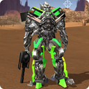 Robot War Free Fire - Survival battleground Squad
