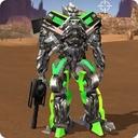 Robot War Free Fire - Survival battleground Squad