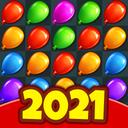 Balloon Paradise - Halloween Games Puzzle Match 3